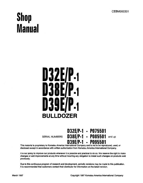Komatsu 6D125-2, S6D125-2, SA6D125-2, SAA6D125-2, 125